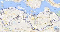 Rondje Zeeuws Vlaanderen - Wandelen 200 jaar Zeeuws-Vlaanderen 2014 - 238 km lange route - 31 tracés