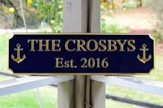 Image result for cape cod signs for house names