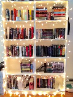 ChicNerdReads Not the reads as I don't read that style but celebrating books with twinkly lights - yay!