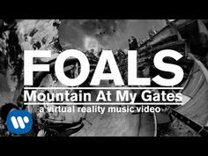 FOALS - Mountain At My Gates    ...Through lanes and stone rows.  Black granite, wind blows.  Fire lake and far flame. Go now but come again. Dark clouds gather 'round. Will I run or stand my ground?....