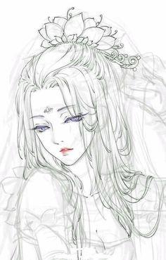 pin by trang on anime, sketches and draw Manga Drawing, Manga Art, Drawing Sketches, Art Drawings, Drawing Hair, Pencil Drawings, Art Anime Fille, Anime Art Girl, Anime Girls