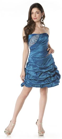 Short Prom dress in color Teal, Purple, Fuchsia/Pink & more - Strapless style in Tafetta - Plus Size available. - $188 - Dress URL: http://www.jessicasfashion.com/high-low-strapless-two-in-one-prom-dress-PY6436.html #prom2013 #promdresses #promdress #dressshopping #tealdress #tealpromdress #Taffetadress #shortpromdress #shortdress #shortdresses #straplessdress #straplessdresses #plussizedress