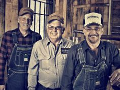 Jimmy Simpson, Ricky Estes and Ronald Lauson. The three legendary and original Short Mountain Distillery Moonshiners.