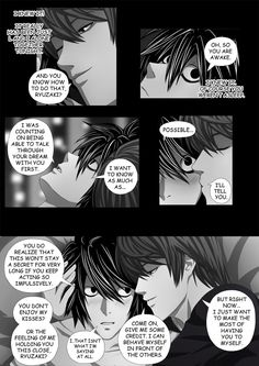 Death Note Doujinshi Page 108 by Shaami on DeviantArt Light And Misa, L X Light, Death Note Light, L Death Note, Yuri, Emo, Death Note Funny, Death Note Fanart, Bl Comics