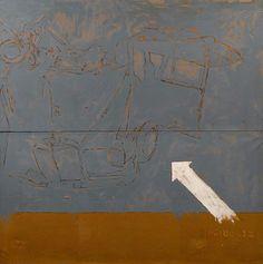 MARIO SCHIFANO 1934 - 1998 Incidente. 1962.
