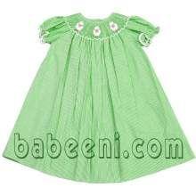 kid wear, baby dress, baby smocked dresses http://babeeni.com/Baby-smocked-bishop-dresses.html