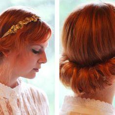 Vintage Hairdo Tutorial {Hairstyles} - Tip Junkie