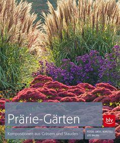 """Der pflegeleichte Gestaltungstrend: Gärten mit Prärie-Flair. """"Prärie-Gärten"""" (BLV Buchverlag) von Ute Bauer."""