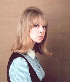 1960s - I remember wearing my hair just like this in the late sixties