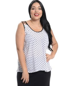 Shop ModDeals.com for White Polka Dot Tank Top in our cheap trendy Tops category. Find trendy cheap clothing for women, discount shoes, jewelry sales, perfume & cheap accessories for women.