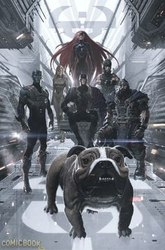 Inhumans by Jose Ladronn