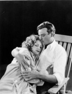 Greta Garbo and Nils Asther in the silent film The Single Standard (John S. Robertson, 1029)