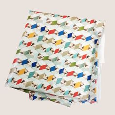 - printed cotton front - PVC mat coated