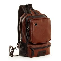 Zebella Men's Unbalance Chest Pack Multipurpose Backpack Crossbody Shoulder Bag ** For more information, visit image link. (This is an Amazon Affiliate link and I receive a commission for the sales)