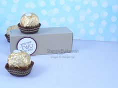 Stampin' Up! UK Ferrero Rocher box chocolate video tutorial