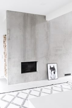 + #fireplace | Scandinavian minimalism by Musta Ovi