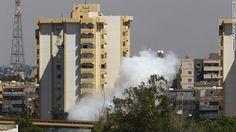 Fighting intensifies in Libya, airport control at stake