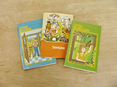 Vintage Children's Books Set of The Modern McGuffey Readers Basic Readers Primary Readers Golden Rule Series Open Windows Open Doors Seesaw by HipCatRetroVintage on Etsy