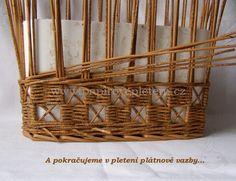 Šachovnice s křížkem - Papírové pletení