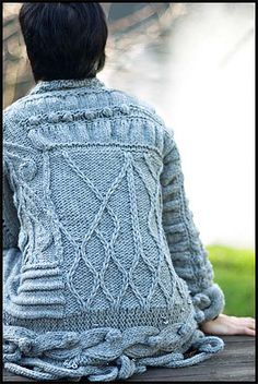Art-Sweater for 'The Exquisite Corpse Project' Brooklyn Tweed
