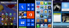 the difference smartphone OS in 2013