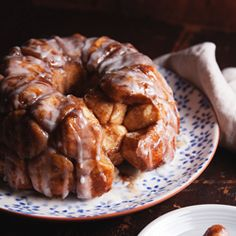 Monkey bread is part cinnamon roll, part donut hole, baked in a Bundt pan so it's pretty to boot. With its sugary glaze, it's quite decadent
