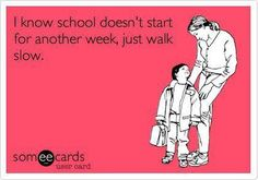 Organise My Space Friday Funny - Countdown to Back to School :)
