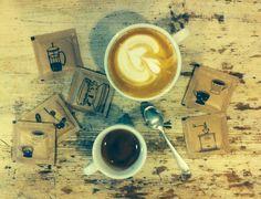 Coffee, sugar, design, mamacoffee Coffee Shop, Latte, Sugar, Tableware, Places, Food, Design, Coffee Shops, Coffeehouse