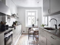 Ein wundervolles Apartment in Grau und Grün | Lilaliv