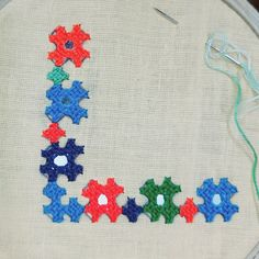 Kutch Work Designs, Types Of Hands, Mirror Work, Border Design, Needle And Thread, Hand Embroidery, Pillow Covers, Kids Rugs, Blanket