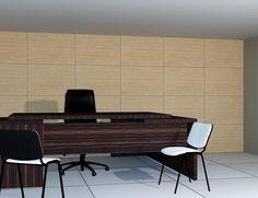 Επένδυση Τοίχου Γραφείου με Πάνελ καπλαμά-λούστρο [Σειρά Natural] Conference Room, Table, Furniture, Home Decor, Decoration Home, Room Decor, Tables, Home Furnishings, Home Interior Design