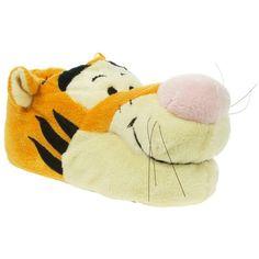 Orange Disney Tigger Novelty Slippers ($24) ❤ liked on Polyvore