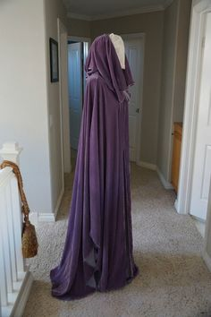Custom Silk Velvet Cloak inspired by Arwen LotR by LiveMyth