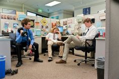 workaholics...not a movie, but still a must-see! And this clip is from one of the best episodes Fully Torqued!