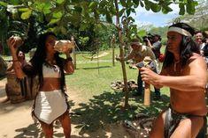 Cueva del Indio - Vinales - Pinar del Rio - Cuba © Viaje Comigo Vinales, Cuba, Swimwear, Traditional Homes, Bullock Cart, Boating, Bathing Suits, Swimsuits, Costumes