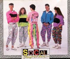 ropa vintage colorida