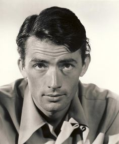 Gregory Peck, 1940s Favorite Actor of all time from my favorite movie of all time...To Kill a Mockingbird.