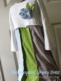 LoisPearl: Upcycled Stripey Dress - Bildanleitung