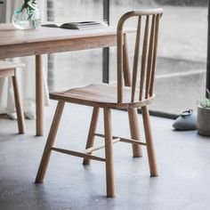 Get that luxury modern chic to contemporary city living with this Hudson Living Wycombe Dining Chair. Nordic Oak Chair for your Dining Room - Free Delivery!