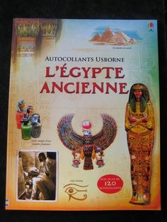 Autocollants Usborne : L'Egypte Ancienne Rob LLoyd Jones Tony Kerins Editions Usborne