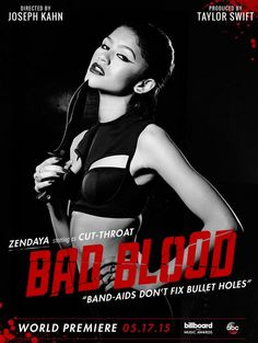 Zendaya Coleman 'Cut Throat' In Taylor Swift's New Music Video For 'Bad Blood' - http://oceanup.com/2015/05/08/zendaya-coleman-cut-throat-in-taylor-swifts-new-music-video-for-bad-blood/
