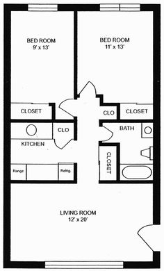 1000 Images About Small House Floorplans On Pinterest Floor Plans Small Homes And Small