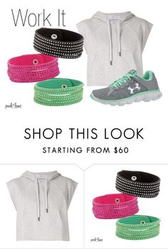 """Rockstud"" by parklanejewelry on Polyvore featuring adidas and Under Armour"