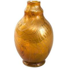 Tiffany Studios, New York Favrile Glass Vase