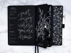 We have gone looking for the most inspirational Black Out journal spreads, for your black out notebook! 31 amazing spreads to inspire alternative creativity Bullet Journal Page, Bullet Journal Themes, Bullet Journal Spread, Bullet Journal Inspiration, Journal Paper, Book Journal, Journal Ideas, Art Journals, Art Journal Fondos