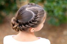 Mermaid Heart Braid Valentine's Day Hairstyle - Instructions and Video Tutorial / Cute Girls Hairstyles Valentine's Day Hairstyles, 5 Minute Hairstyles, Cute Girls Hairstyles, Christmas Hairstyles, Hairstyle Ideas, Black Hairstyles, Braided Hairstyles, Heart Braid, Girl Hair Dos