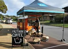 Thank you Frothin Coffee for visiting us!!!  Your coffee is just FABULOUS - See you super soon ;-)