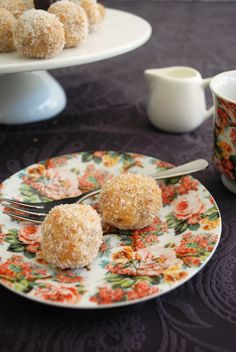 Apricot and coconut butter balls | Jude Blereau | Thermomix