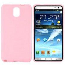 Capa Galaxy Note 3 - Gel Rosa  R$21,92