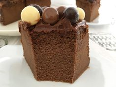 Chocolate Mousse Cake, Chocolate Brownies, Delicious Desserts, Dessert Recipes, Yummy Food, Cheesecake Cake, My Dessert, Sweet Cakes, Confectionery